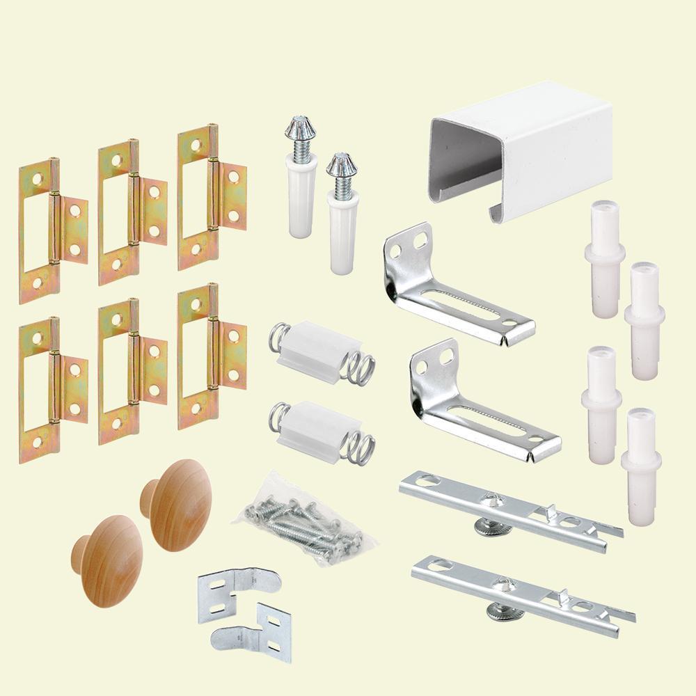 60 in. Bi-Fold Closet Door Track Kit