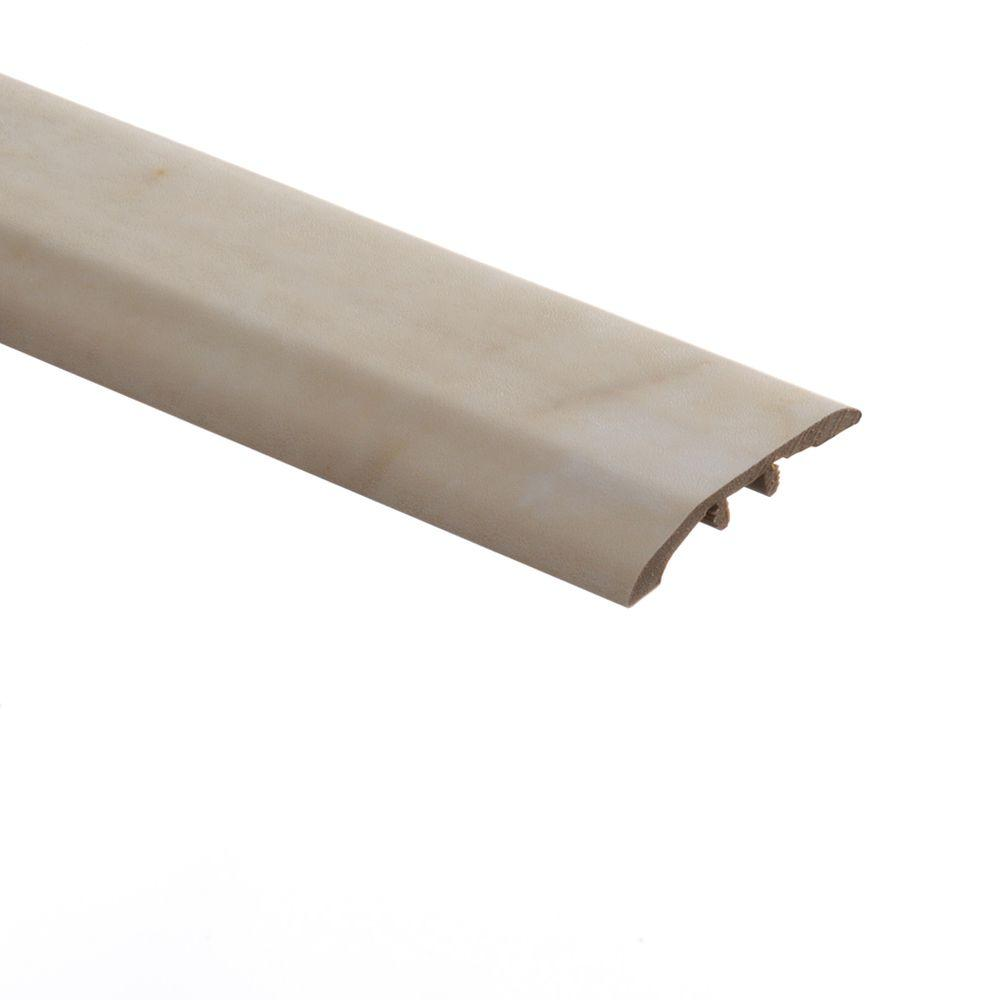 Zamma Livorno Onyx 5/16 in. Thick x 1-3/4 in. Wide x 72 in. Length Vinyl Multi-Purpose Reducer Molding