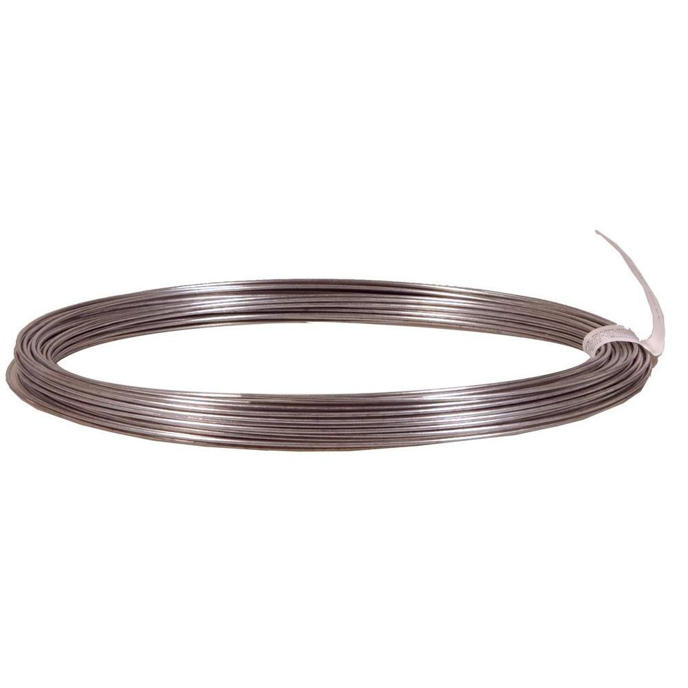 OOK 18-Gauge x 100 ft. Galvanized Steel Wire Rope-50131 - The Home Depot