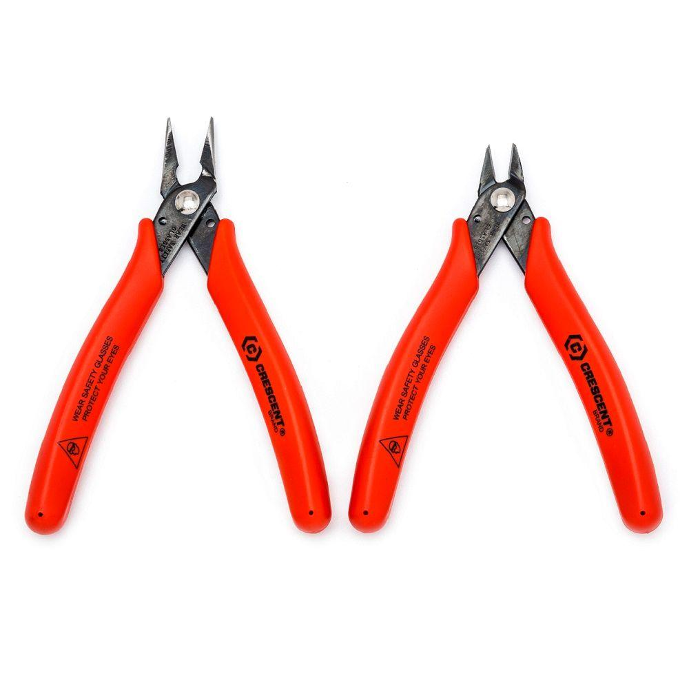 4 in. Shear-Cutter Plier Set (2-Piece)
