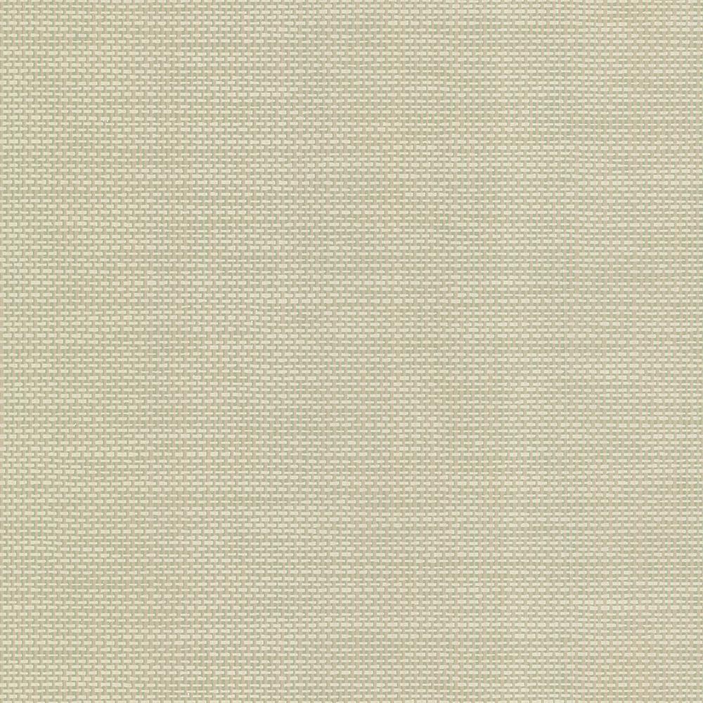 Brewster David Sage Basket Weave Texture Wallpaper Sample 499-20000SAM