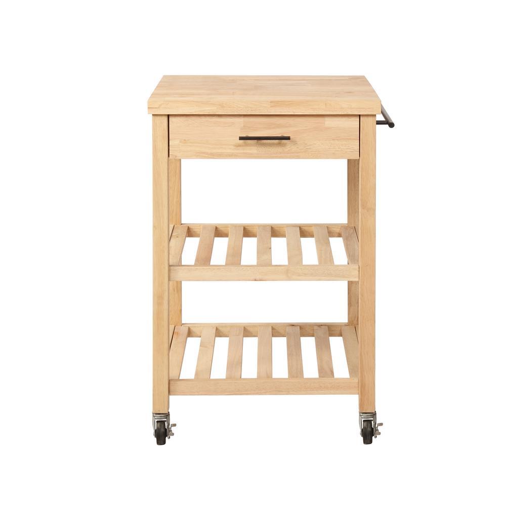 Anderson Natural Kitchen Cart