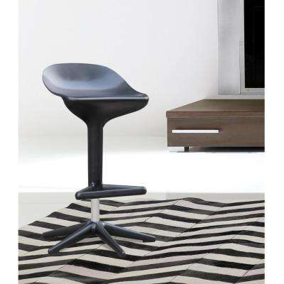 31 in. Black Different Bar Stool Chair