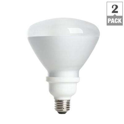 Flood and spot cfl bulbs light bulbs the home depot 90w equivalent soft white br40 medium base cfl light bulb 2 pack workwithnaturefo