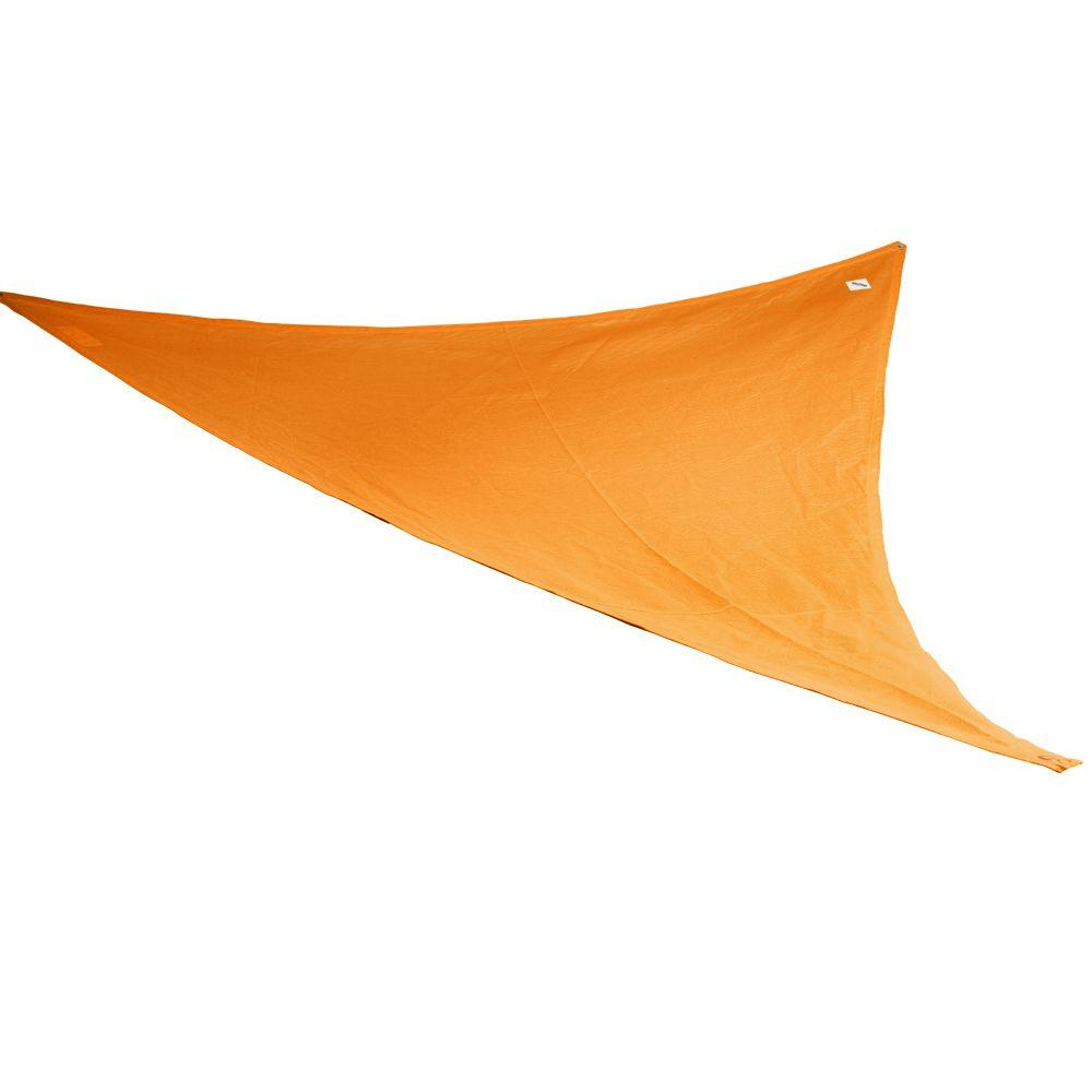 Coolaroo 9 ft. 10 in. Orange Triangle Party Sail