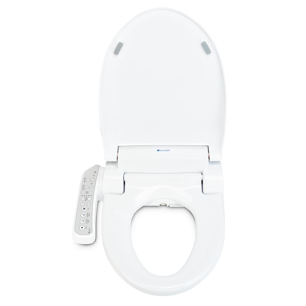 Fabulous Brondell Swash Is707 Advanced Electric Bidet Seat For Round Toilet In White Ocoug Best Dining Table And Chair Ideas Images Ocougorg