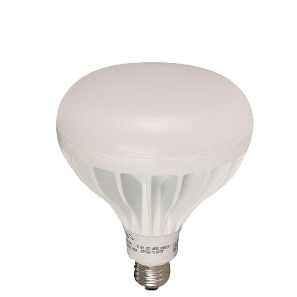 EcoSmart 90W Equivalent Soft White (2700K) BR40 LED Flood Light Bulb (4-Pack)