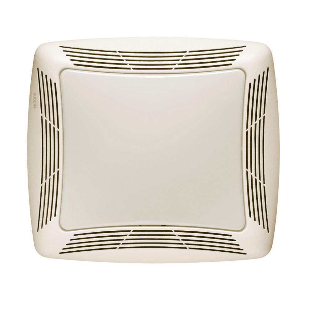 Nutone 50 Cfm Ceiling Exhaust Bath Fan With Light 763n: White Ceiling Bathroom Exhaust Fan 50 CFM W/ Light Shower