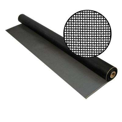 84 in. x 100 ft. Charcoal Fiberglass Screen 20 in. x 20 in. Mesh