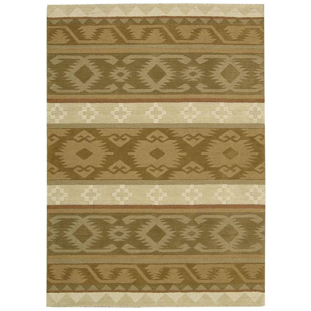 Nourison India House Camel 8 Ft X 10 6 In Area Rug