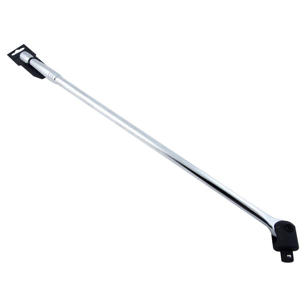 "24/"" Long Flex Drive Chrome Vanadium Heavy Duty Breaker Bar 1//2/""dr 610mm"