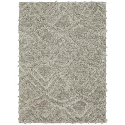 Mohawk Home Zafi Gray 7 Ft X 10 Ft Area Rug 680886 The Home Depot