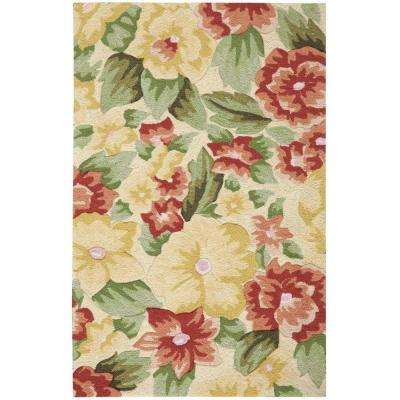 Fantasy Cream 2 ft. x 3 ft. Area Rug
