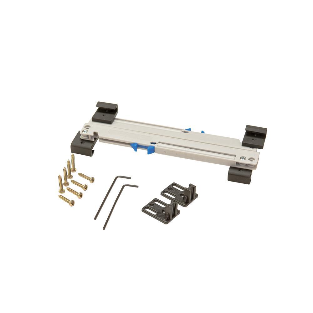 Easy Clip Soft Close Kit for Barn Door for Door Weight 88-132 lbs.