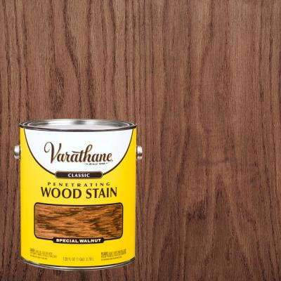 1 gal. Special Walnut Classic Wood Interior Stain (2-Pack)