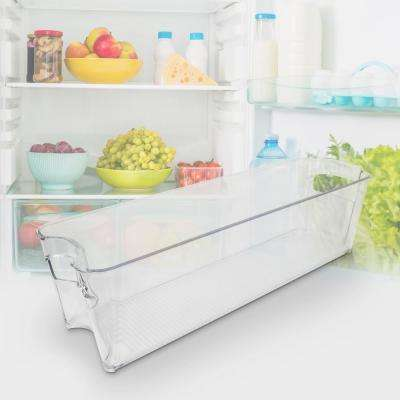 14-1/2 in. x 4-3/8 in. x 3-7/8 in. Slim Fridge Freezer Bin