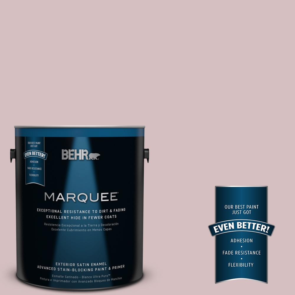 BEHR MARQUEE 1-gal. #PPU17-9 Embroidery Satin Enamel Exterior Paint
