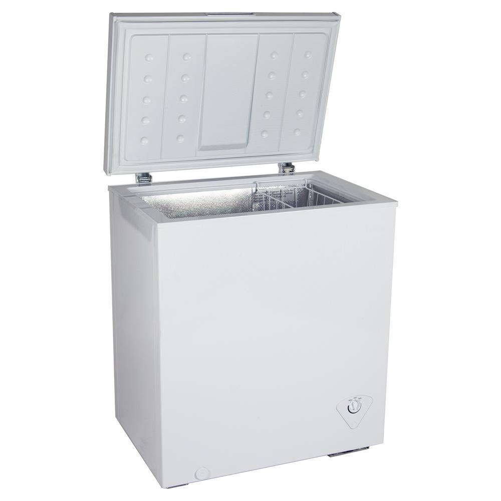 Kool 5.5 cu. ft. Chest Freezer in White
