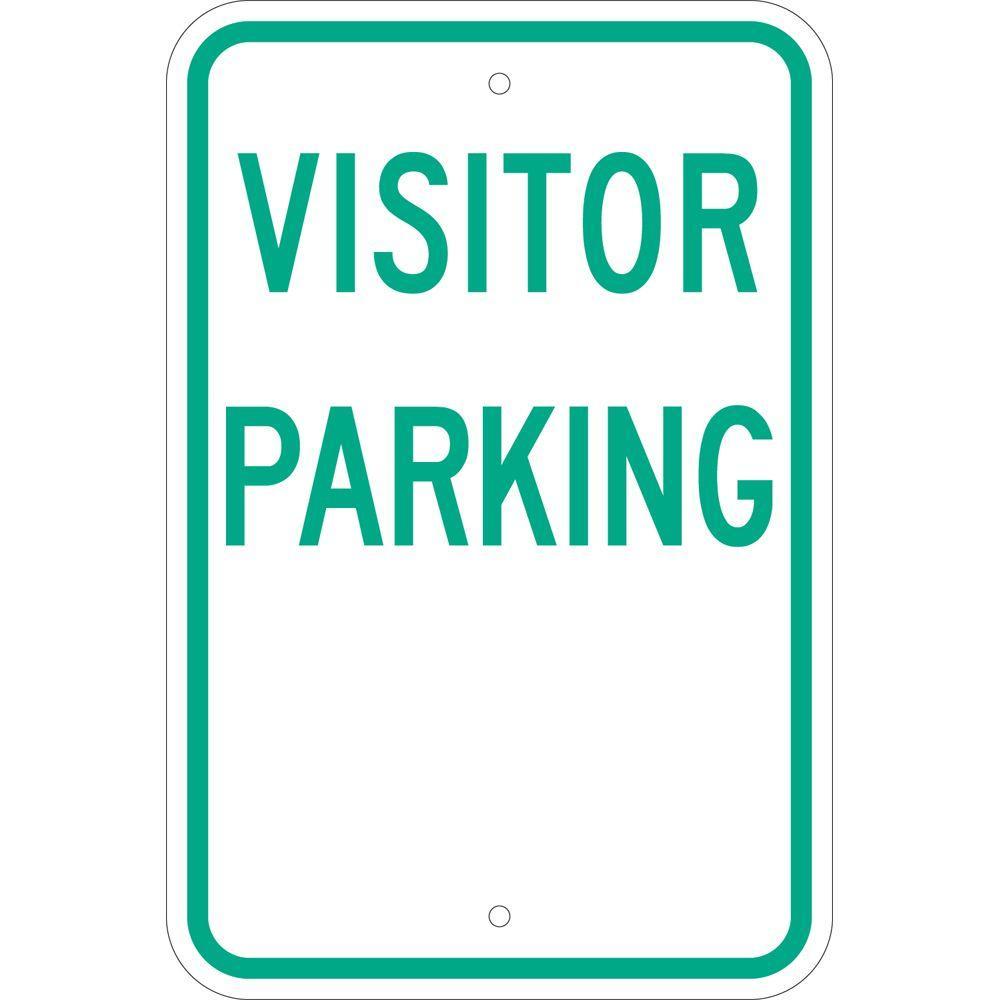 CGSignLab Public Parking Chalk Corner Premium Brushed Aluminum Sign 16x16 5-Pack