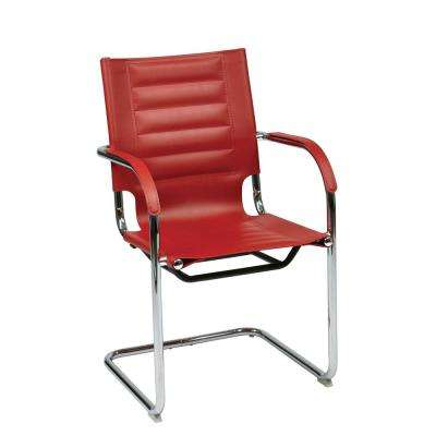 Red Trinidad Guest Chair