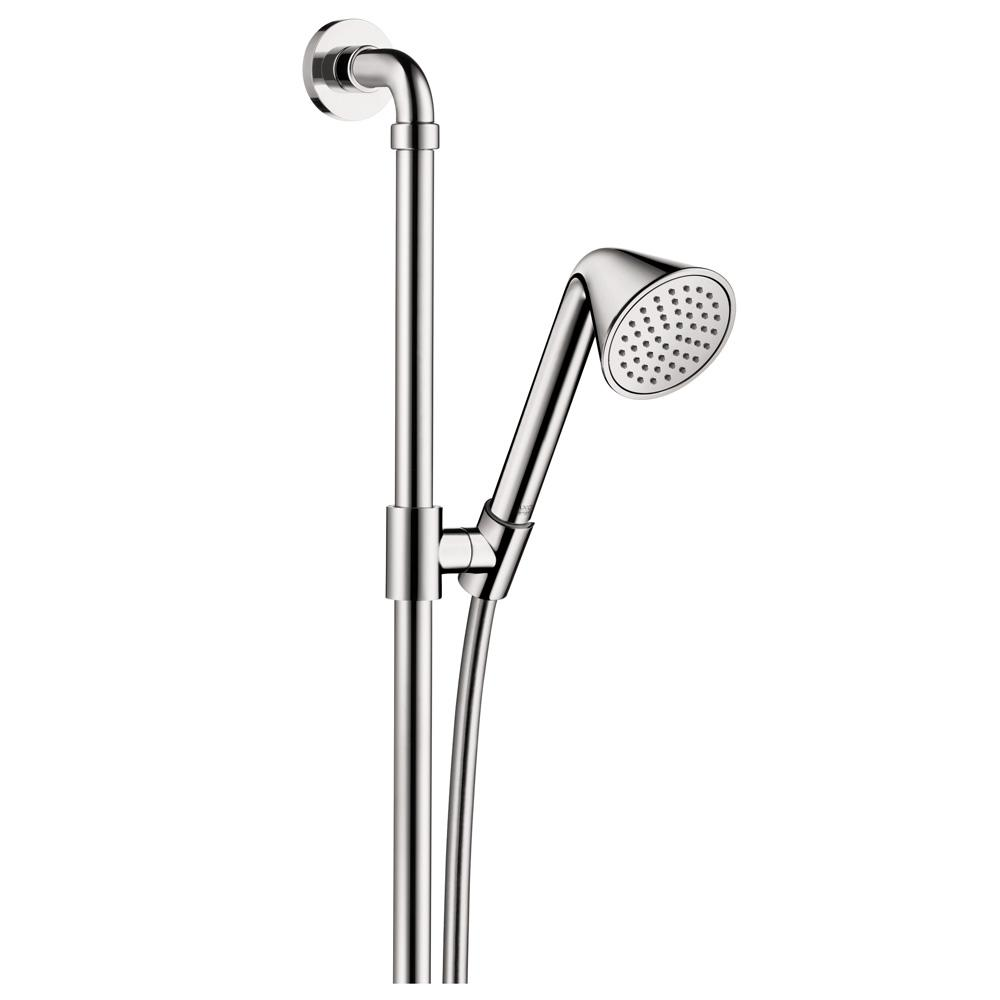 Hansgrohe Axor Front 1 Spray 36 In. Wall Bar Shower Kit In Chrome 26023000    The Home Depot
