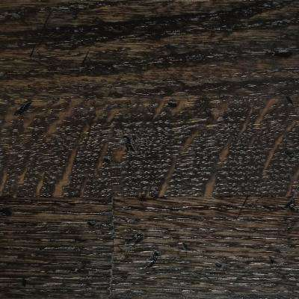 4 in. x 4 in. Wood Countertop in Distressed Ebony