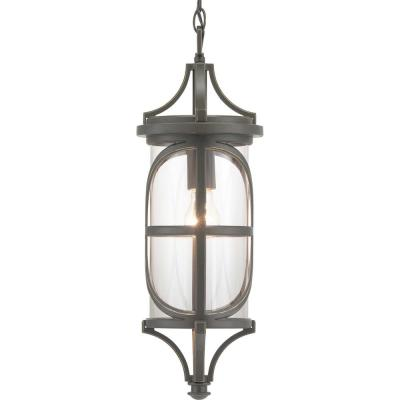 Morrison Collection Antique Bronze 1-Light Hanging Lantern