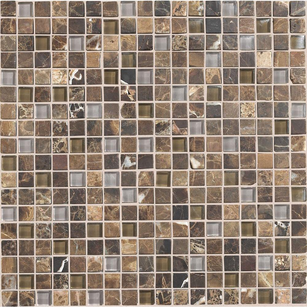 Stone Radiance Wisteria 12 in. x 12 in. x 8 mm
