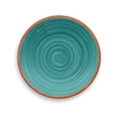 Rustic Swirl Turquoise Salad Plate (Set of 6)