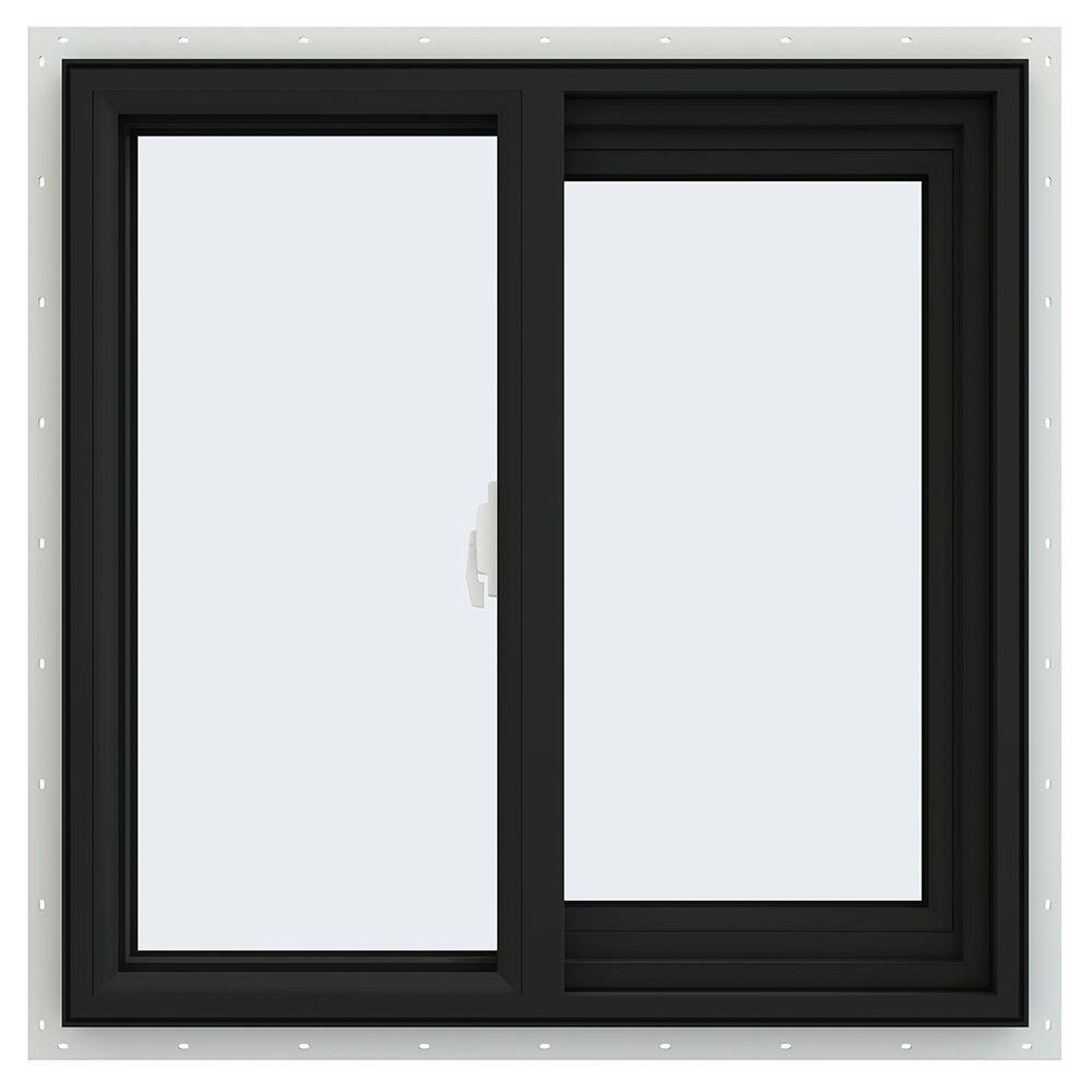 23.5 in. x 23.5 in. V-2500 Series Right-Hand Sliding Vinyl Window