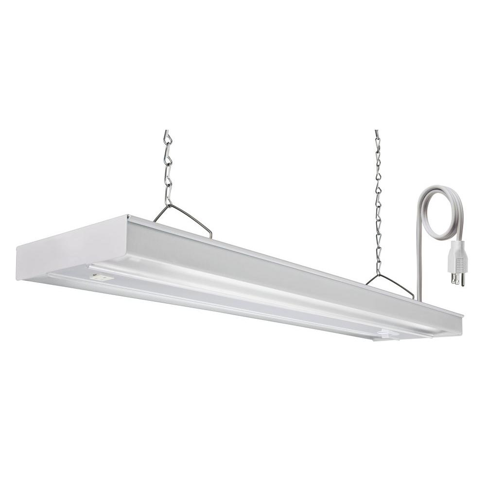 Lithonia Lighting GRW 2 14 CSW CO M4 2-Light 14-Watt White ...