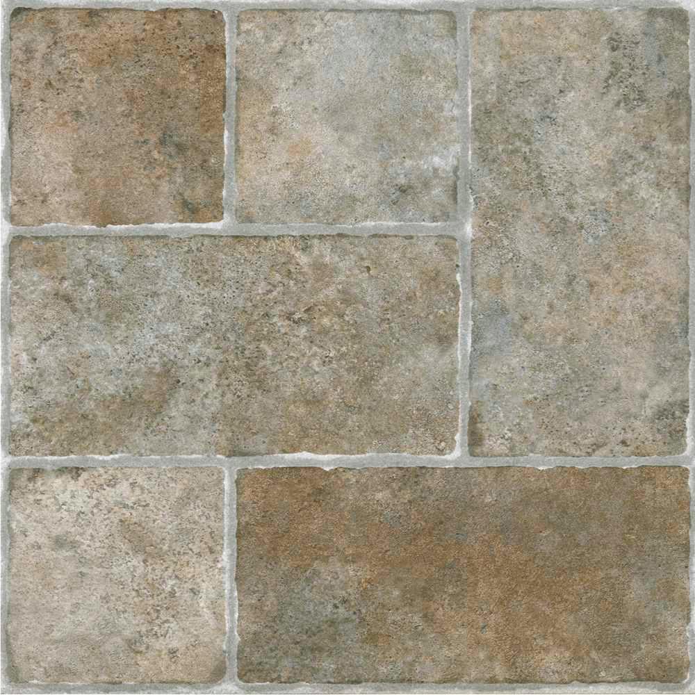 Luxury vinyl tile vinyl flooring resilient flooring the home nexus quartrose 12 in x 12 in peel and stick granite dailygadgetfo Gallery