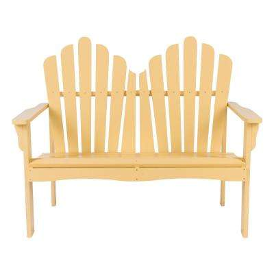 Westport Cedar Wood Outdoor Loveseat Bench 43.5 in. - Bee's Wax