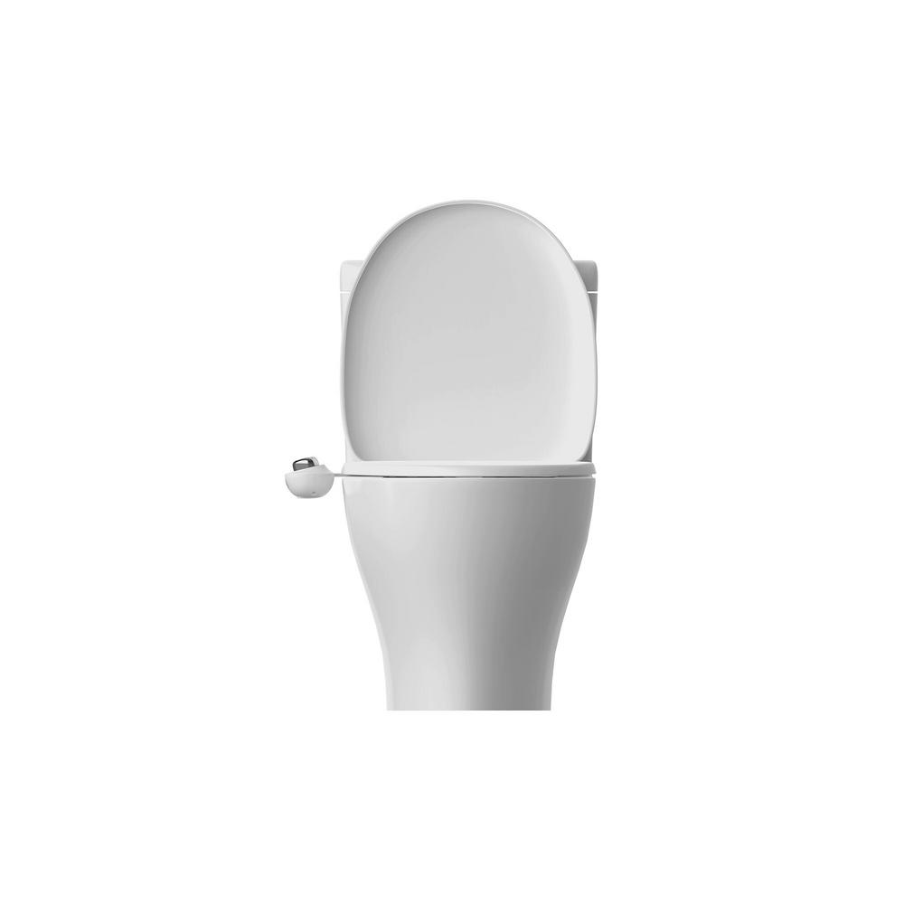 Biobidet Slim Glow Non Electric Bidet Attachment System In White Slimglow The Home Depot