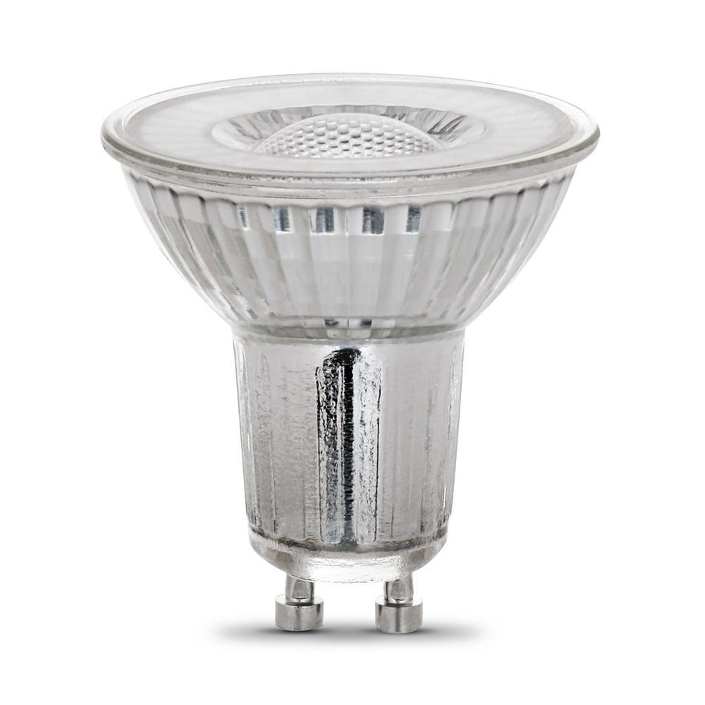 35-Watt Equivalent MR16 GU10 Dimmable LED 90+ CRI Flood Light Bulb, Bright White (6-Pack)