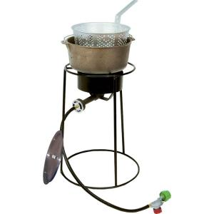 King Kooker 54,000 BTU Portable Propane Gas Outdoor Cooker with Cast Iron Dutch... by King Kooker