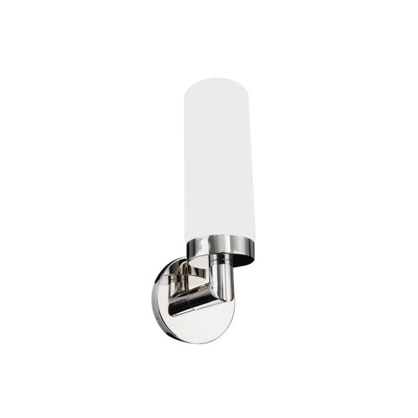 Drake 14 in. Polished Nickel LED Vanity Light Bar and Wall Sconce, 3000K