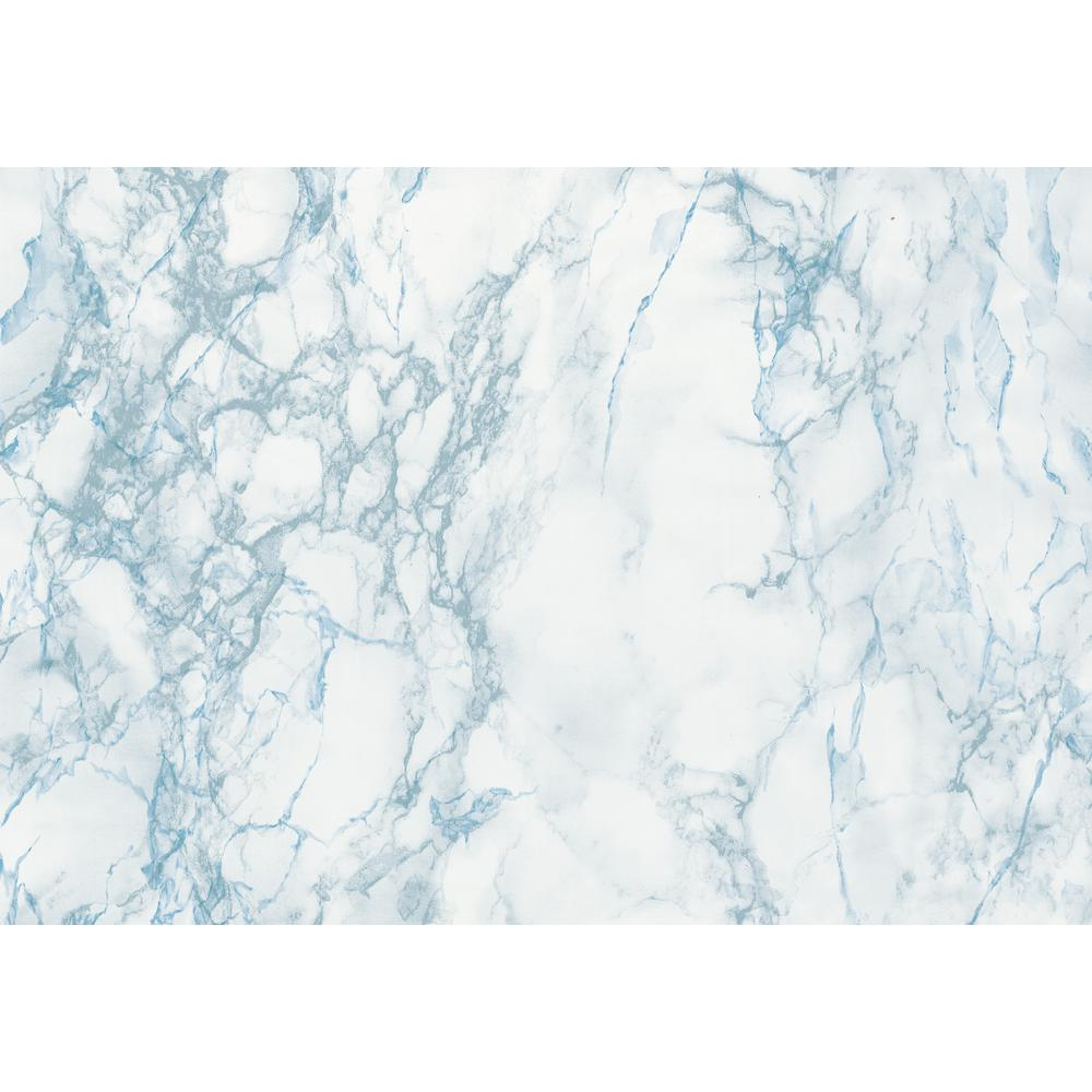 dc fix marble blue self adhesive decor film 96201 the home depot. Black Bedroom Furniture Sets. Home Design Ideas