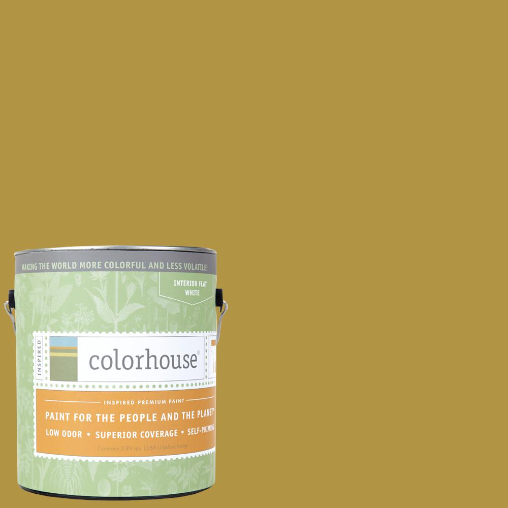 1 gal. Beeswax .06 Flat Interior Paint