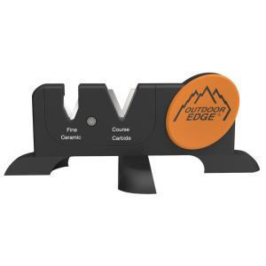 Outdoor Edge Sharp-X Knife Sharpener in Black by Outdoor Edge