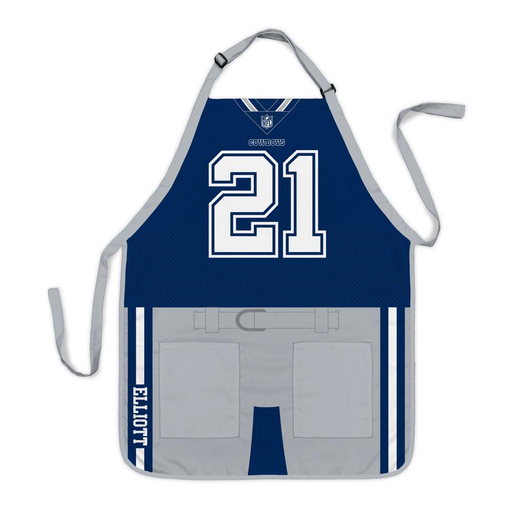 san francisco 4d116 52842 Party Animal Ezekiel Elliott Dallas Cowboys NFL Jersey Apron