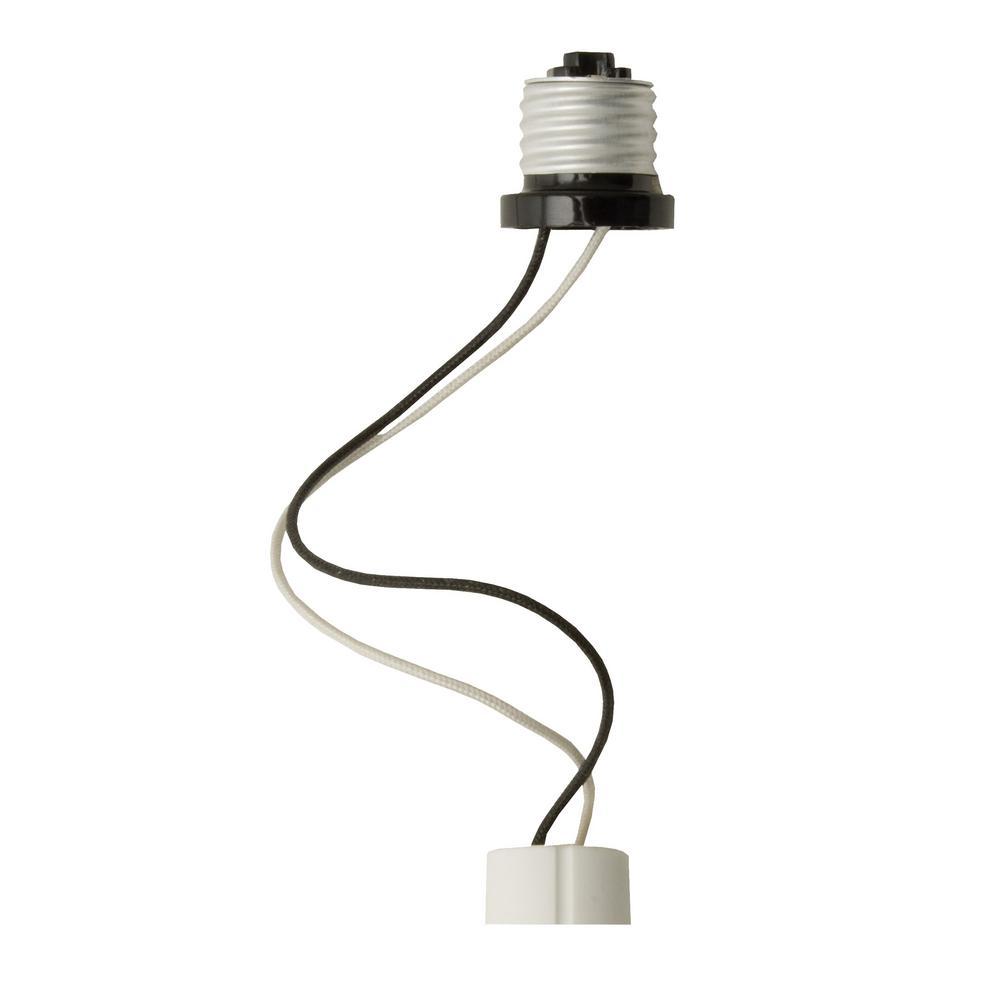 GU10 Socket String Whip Adapter