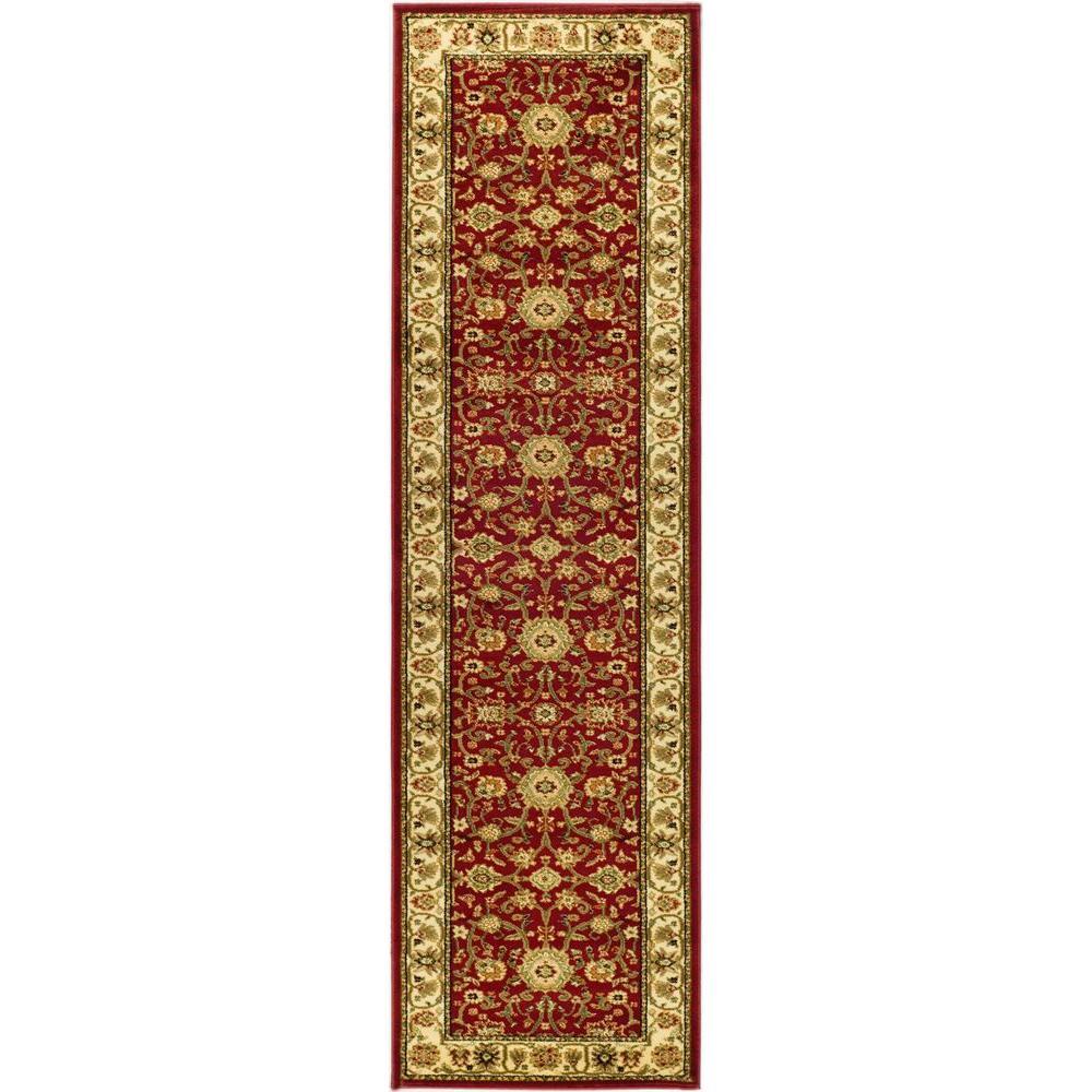 Lyndhurst Red/Ivory 2 ft. 3 in. x 18 ft. Runner