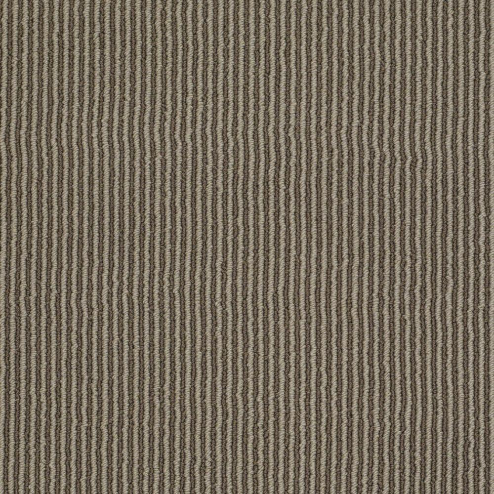Martha Stewart Living Statford Heights - Color Mushroom 6 in. x 9 in. Take Home Carpet Sample