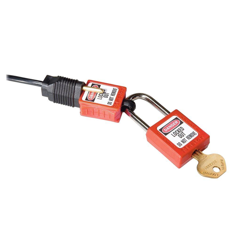 Master Lock Plug Lockout-MLKS2005 - The Home Depot