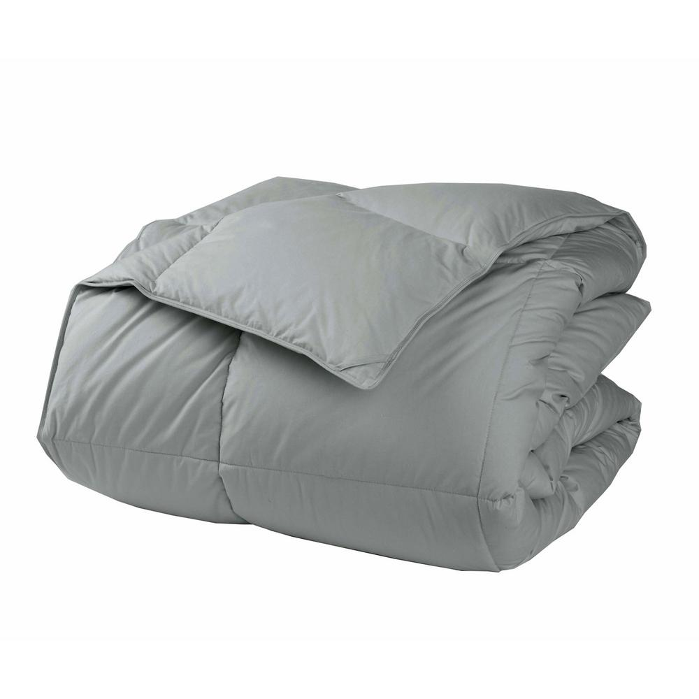 LaCrosse LoftAIRE Light Warmth Silver Twin Down Alternative Comforter