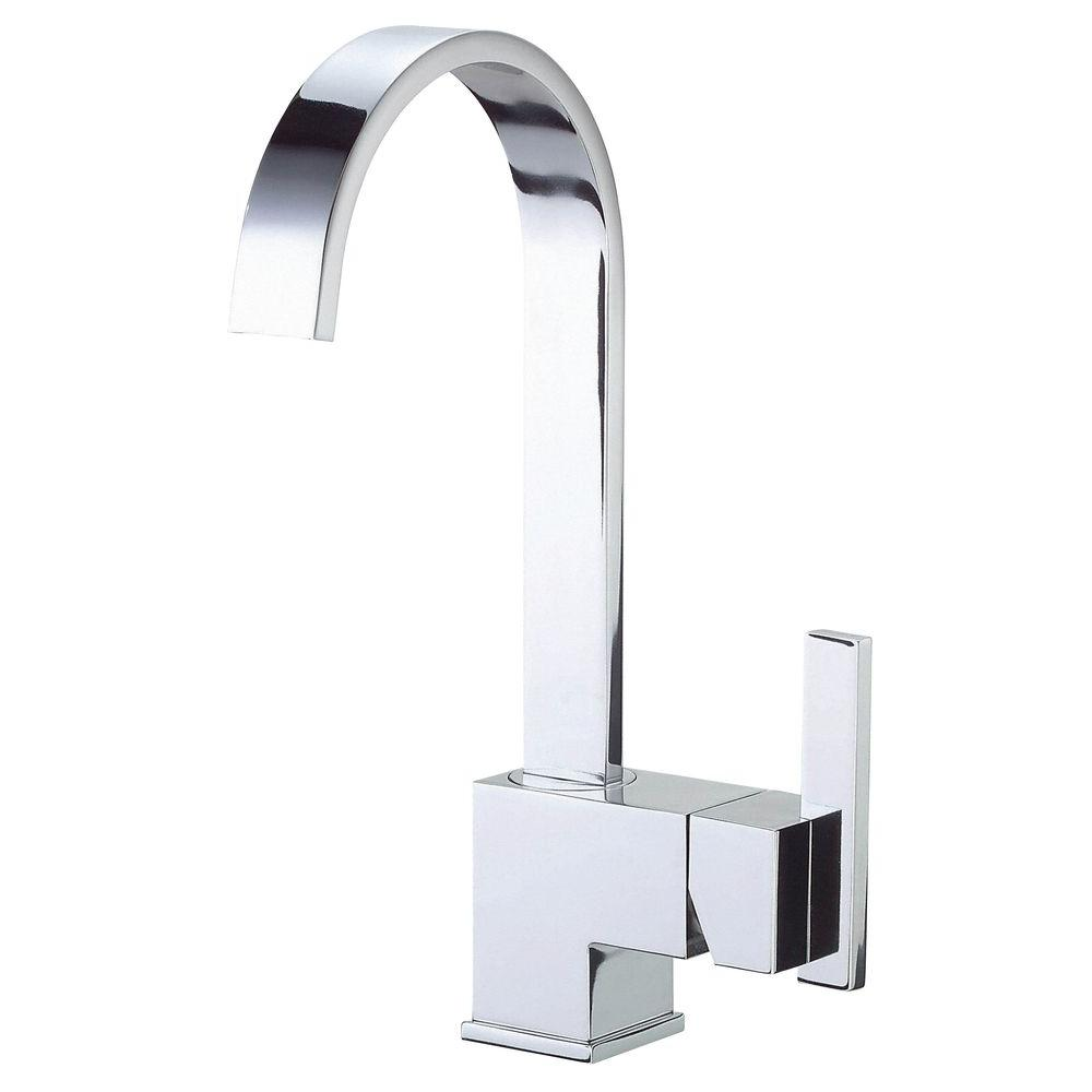 Danze Sirius 1-Handle Bar Faucet with Fixed Spout in Chrome-D150644 ...