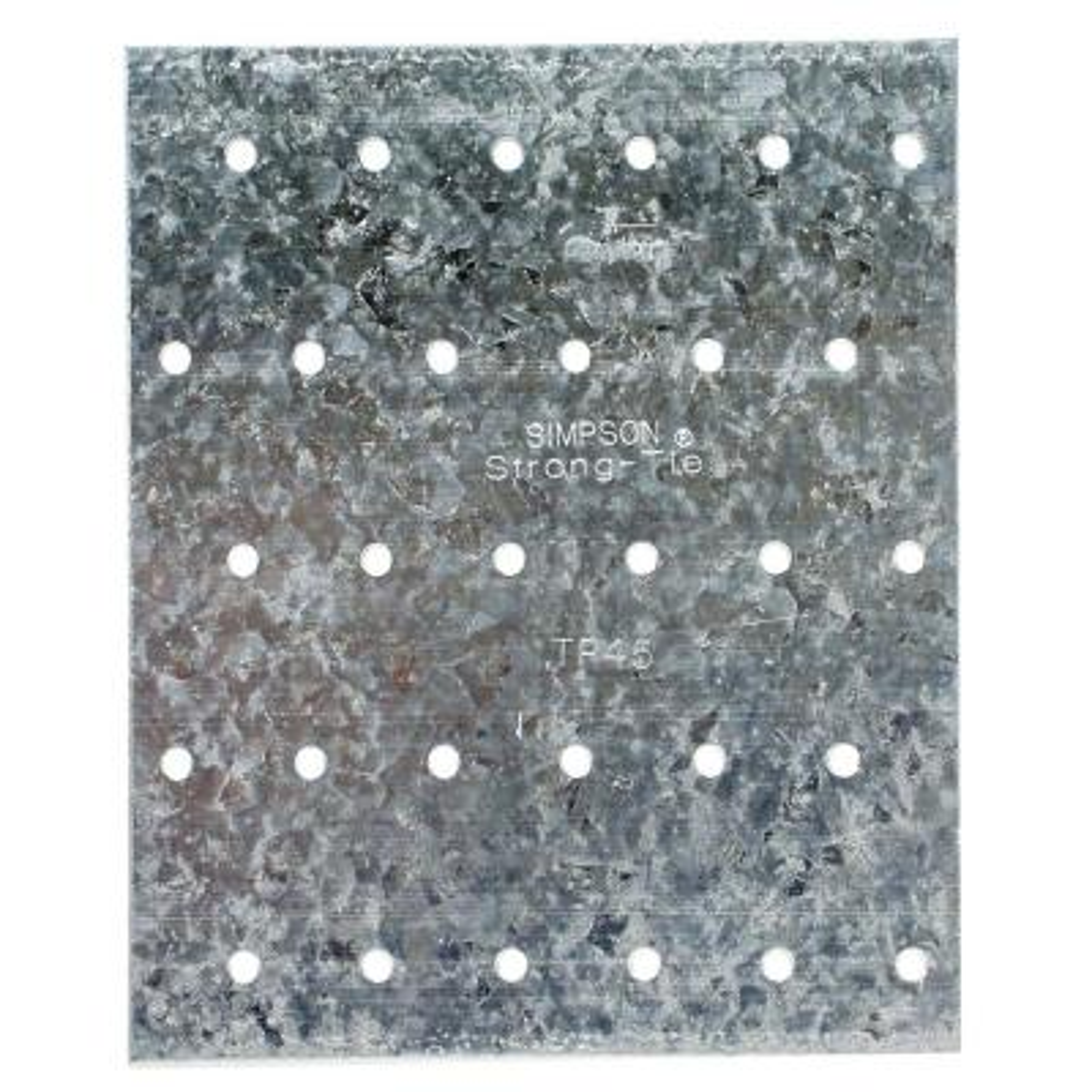 TP 4-1/8 in. x 5 in. 20-Gauge Galvanized Tie Plate