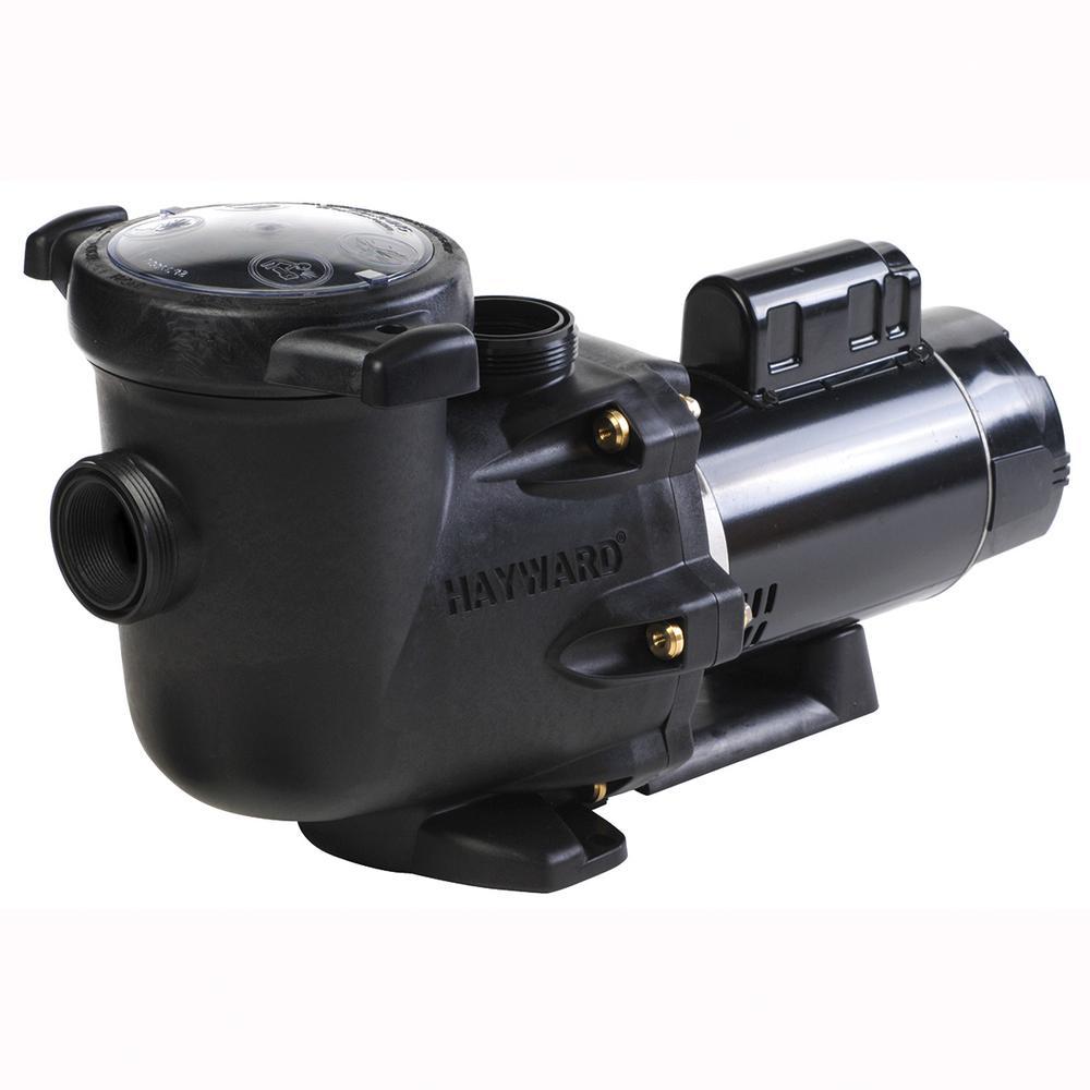 1 HP 115-Volt to 230-Volt 2 in. /2 ½ in. Plumbing TriStar Inground Single Speed  Pool Pump