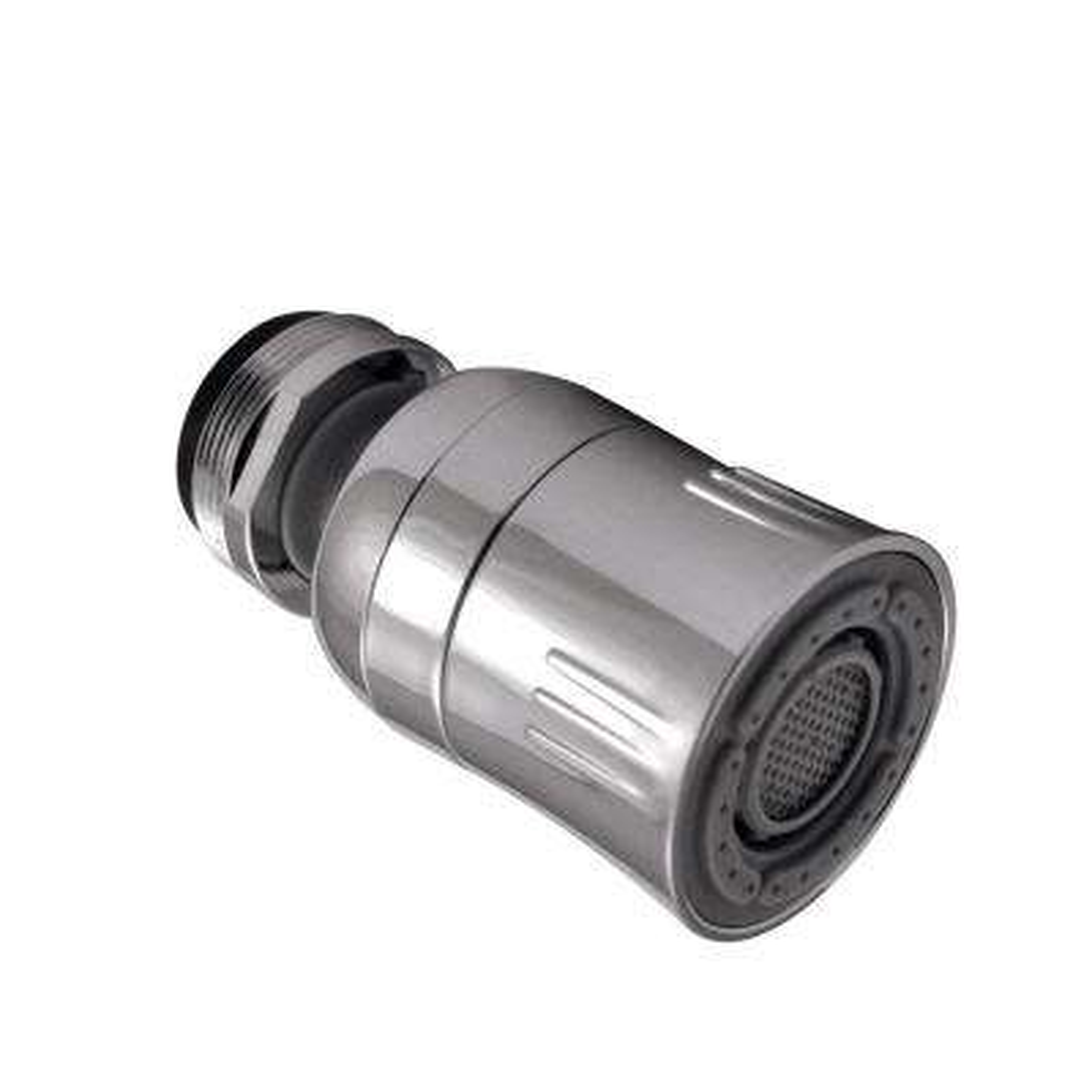 1.5 GPM Dual Spray Swivel Kitchen Faucet Aerator, Chrome